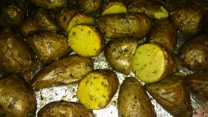 saltbakte poteter