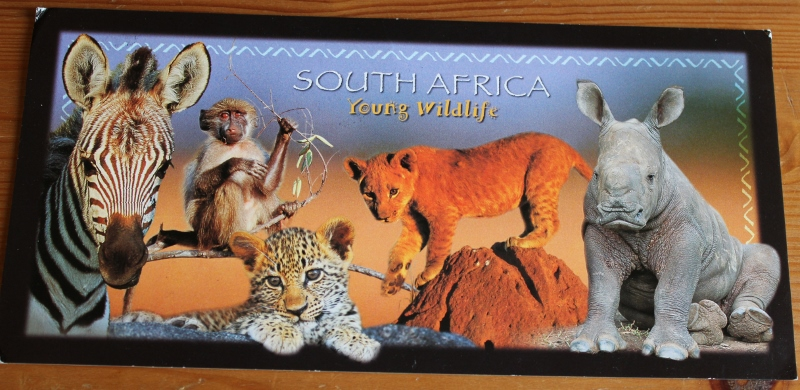 kort fra sør afrika
