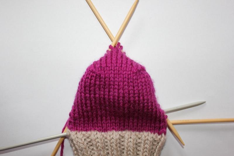 strikket hæl