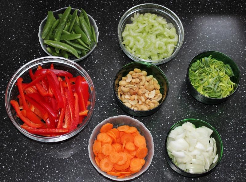 grønnsaker til sechuansvin