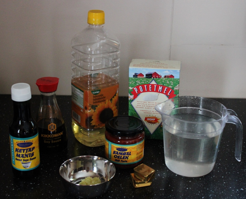 ingredienser til sechuansaus