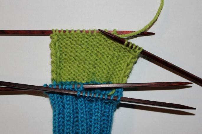 strikke hæl
