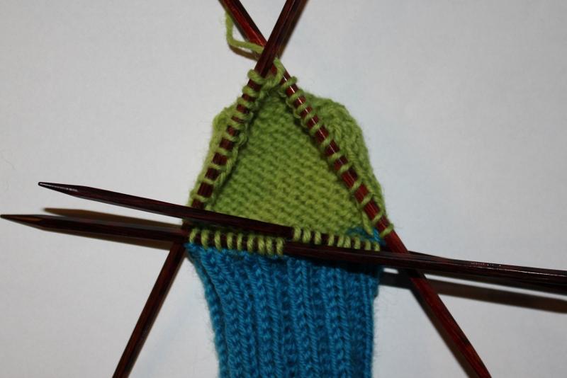 hvordan strikke hæl