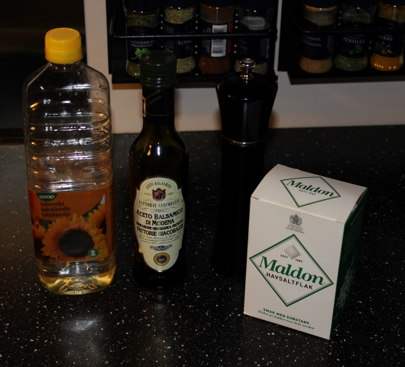 balsamicoeddik til poteter