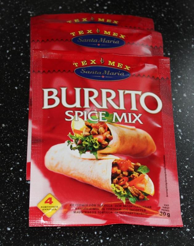 burrito krydder santa maria