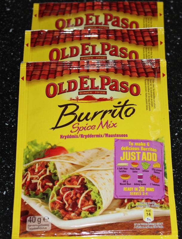 burrito krydder old el paso