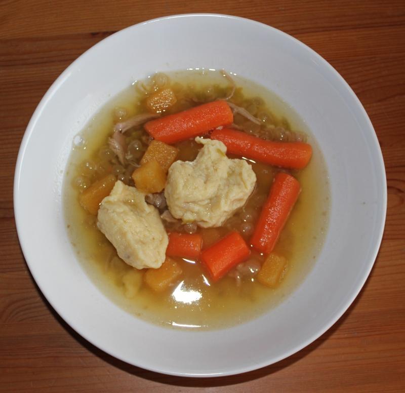 suppe med krummer
