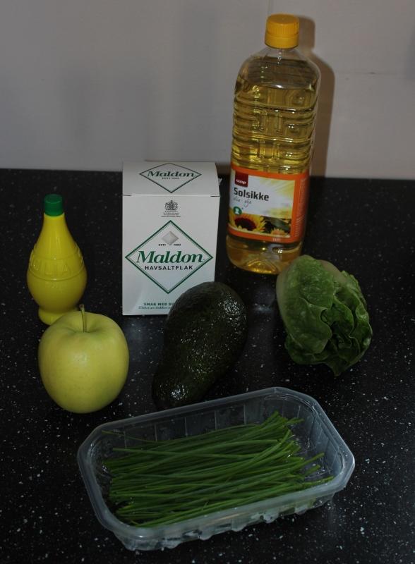 salat til fisk