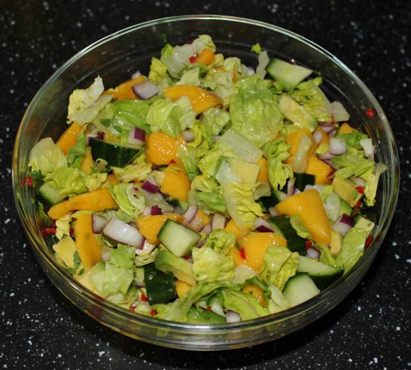 mango og avokadosalat