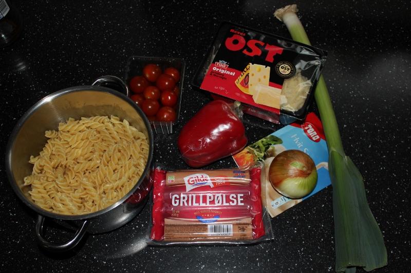 Pastagrateng ingredisenser
