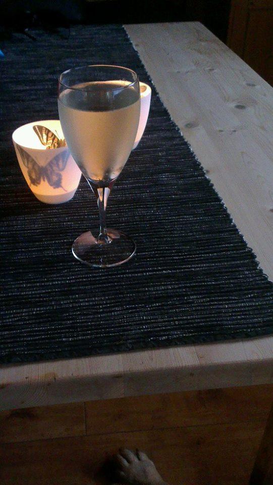 vin og lys