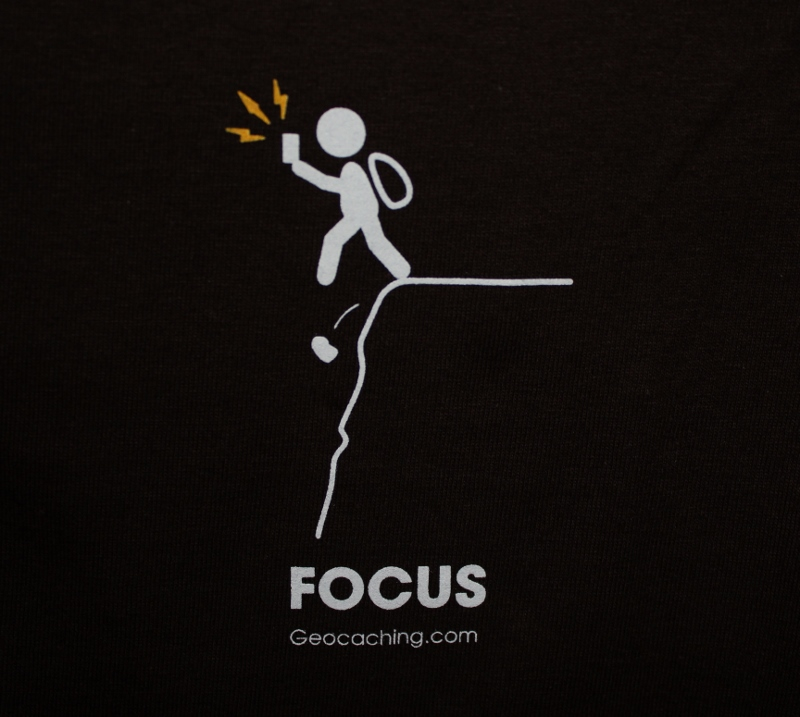 focus tshirt geocaching