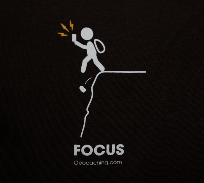 focus tshirt geocaching