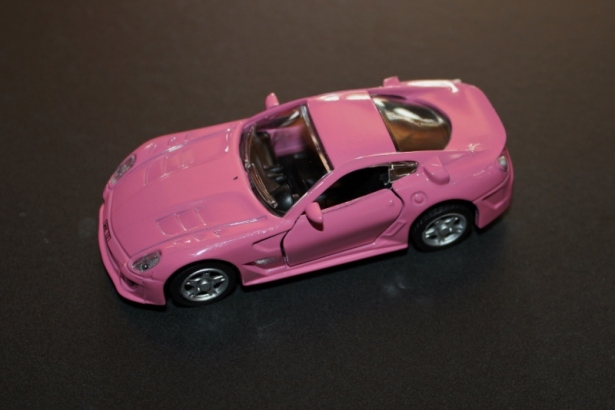 rosa lekebil bytteting geocahing