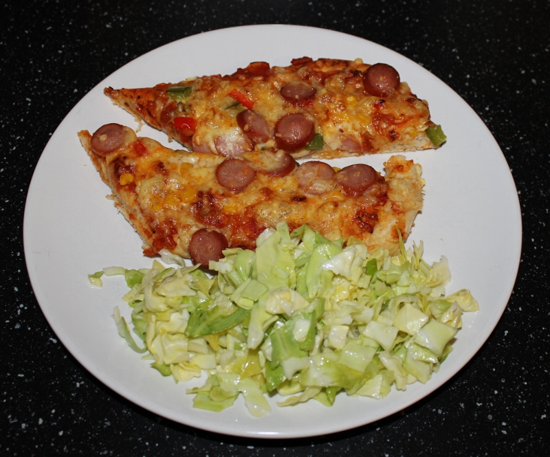 pizzasaus pizzasalat